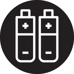 Lithium-Ion Rechargeable Batteries Icon